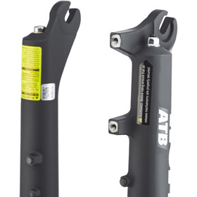 "SR Suntour XCM-ATB Suspension Fork 27.5"" 130mm incl. RL handlebar switch"